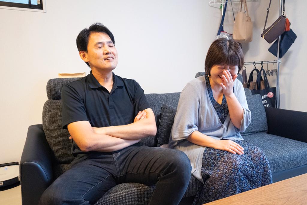 ゼロ仲介で新築一戸建てを購入された富田さまご夫妻